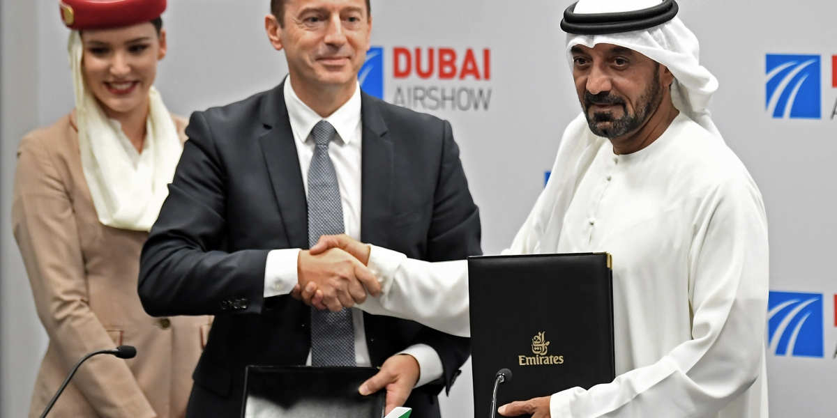 Why Airbus Might Be Unhappy About Emirates' $16 Billion Plane Order