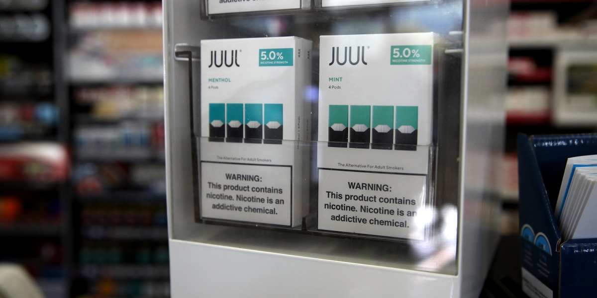 Juul Sued by California for Marketing E-Cigarettes to Teenagers