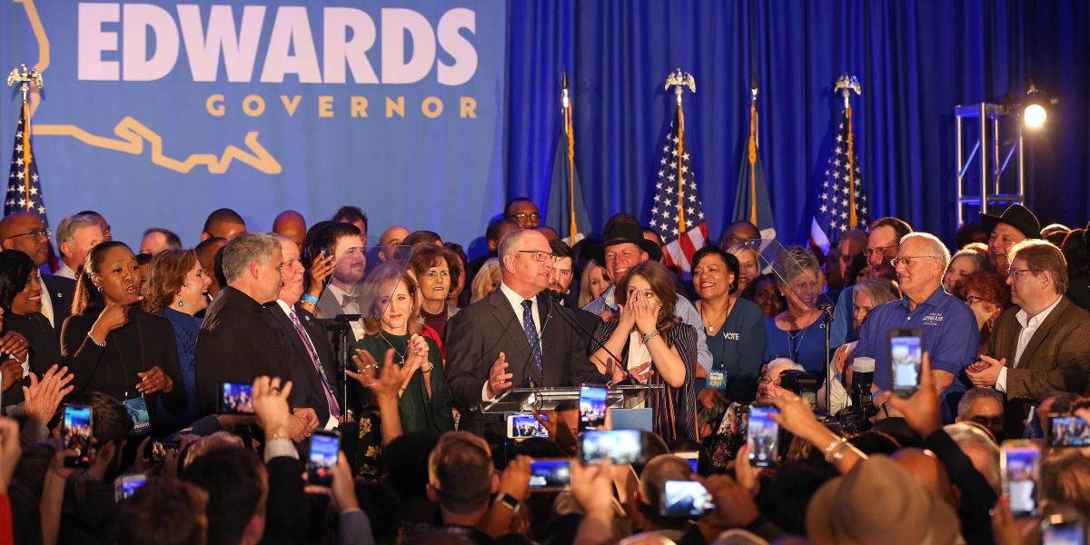 Southern Democrats' State Victories Could Give Party an Edge in Redrawing Political Turf