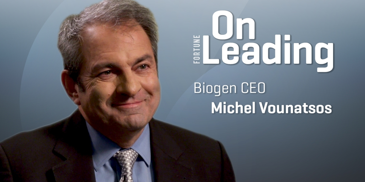 """Biogen CEO on Controversial Alzheimer's Drug: """"There Is Hope"""""""