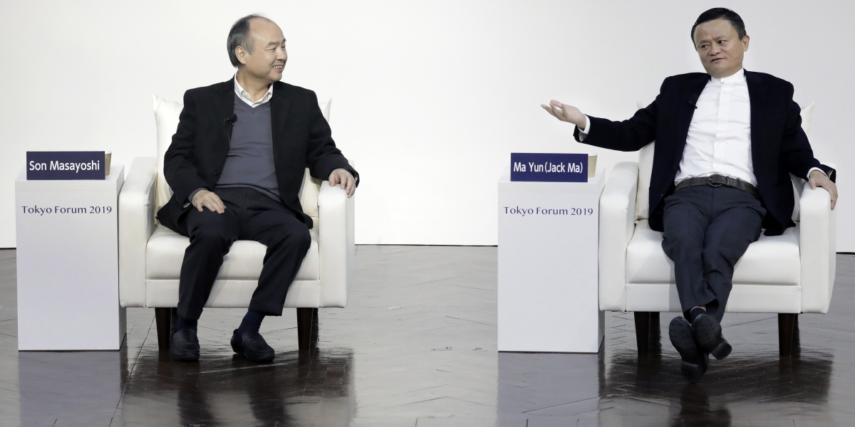SoftBank's WeWork and Uber Stumbles Could Push Masayoshi Son to Sell Part of His Massive Alibaba Stake