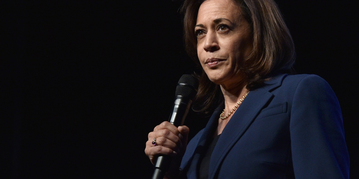 Kamala Harris's Exit Leaves a Historically Diverse Field Pretty Pale and Male