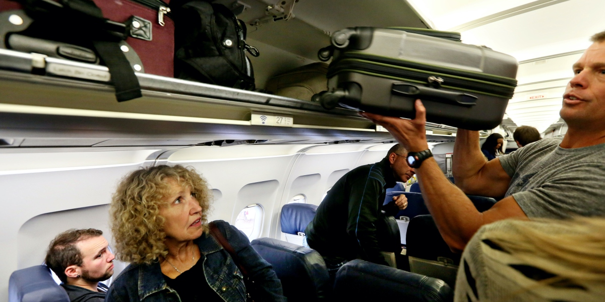 Gate-Checked Again? Why There's No Room for Your Carry-On Bags in the Overhead Bin