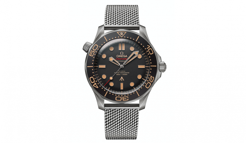 Omega Takes Some Vintage Inspiration for Its New Seamaster 007 Watch