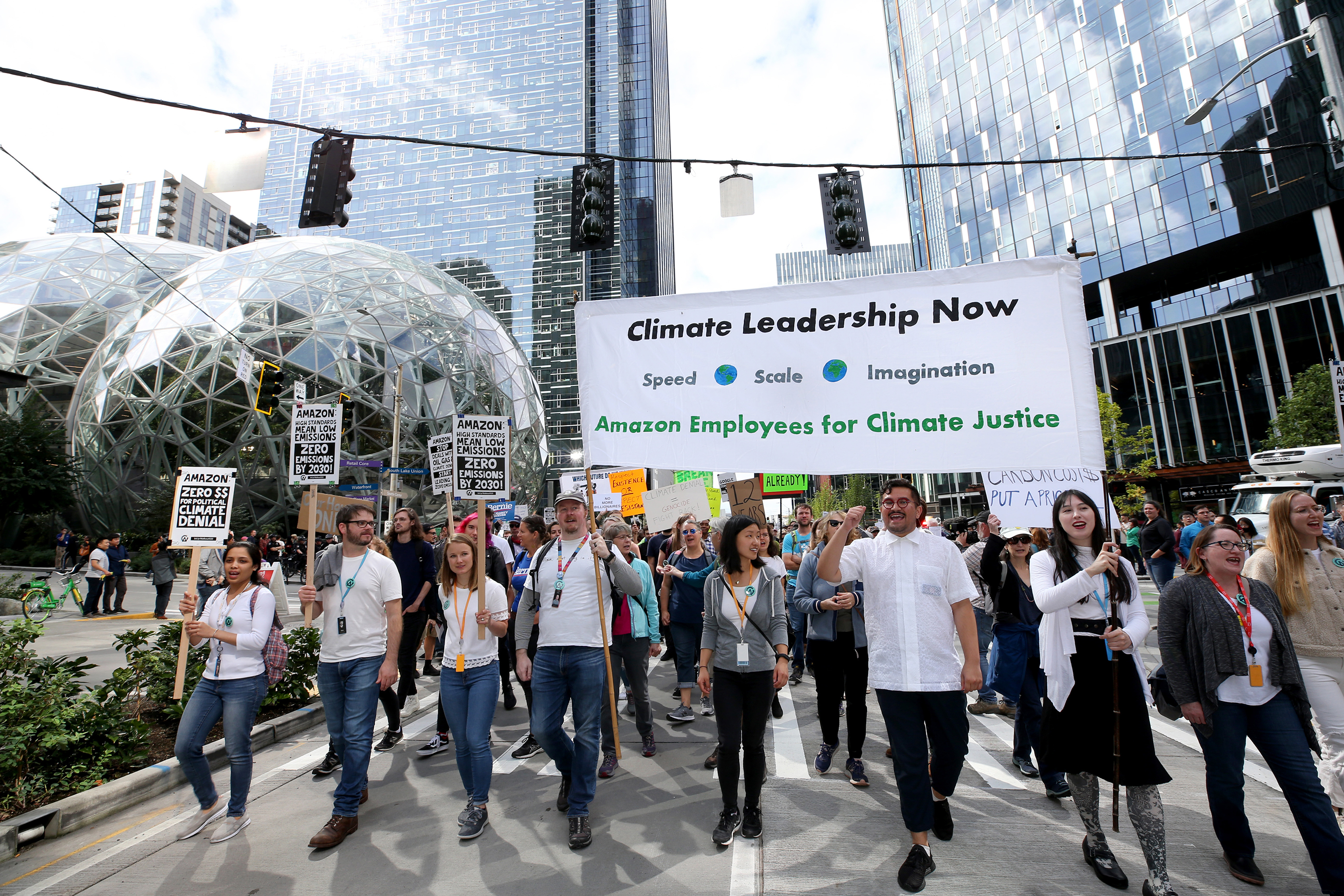 Can Amazon Discipline Employees For Talking About Climate Change Fortune