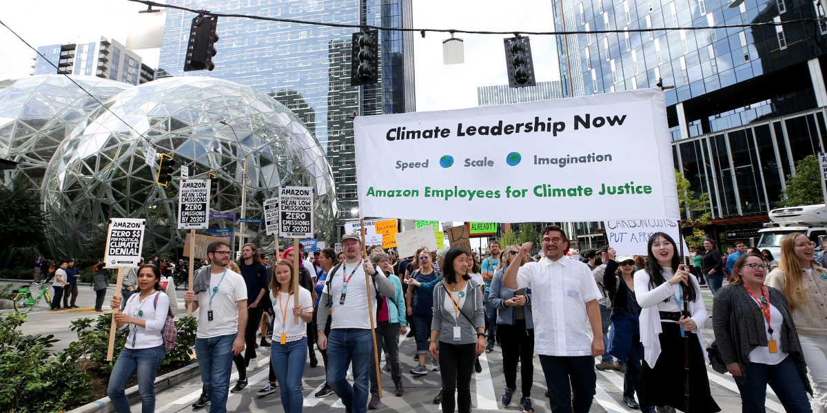 Amazon Is on a Collision Course With Employee Activists Outraged by the Climate Crisis