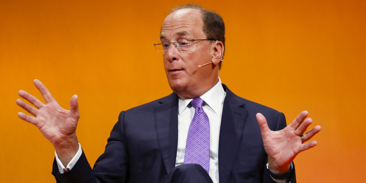 BlackRock CEO Larry Fink puts climate change at center of megafund's investment strategy