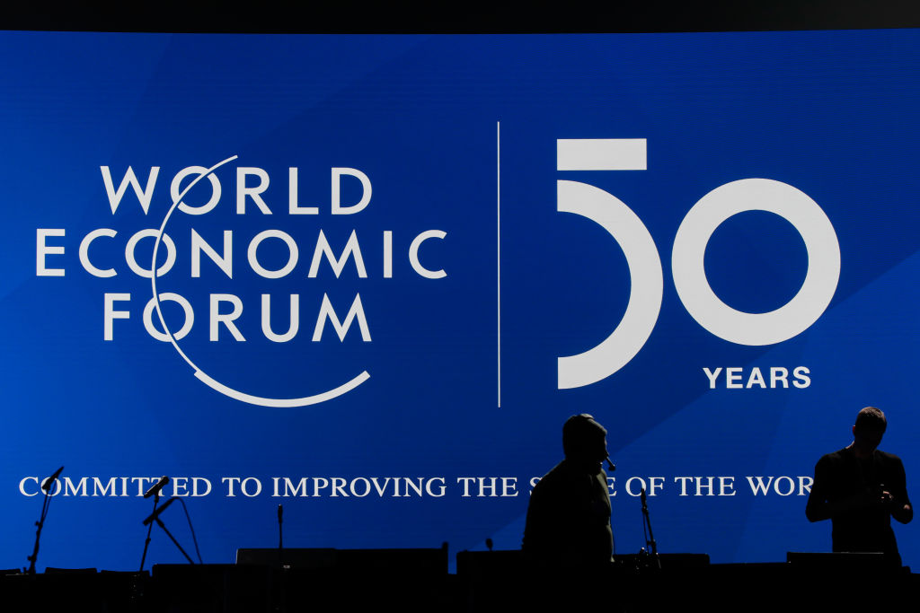 Preparations Ahead Of The World Economic Forum (WEF) 2020