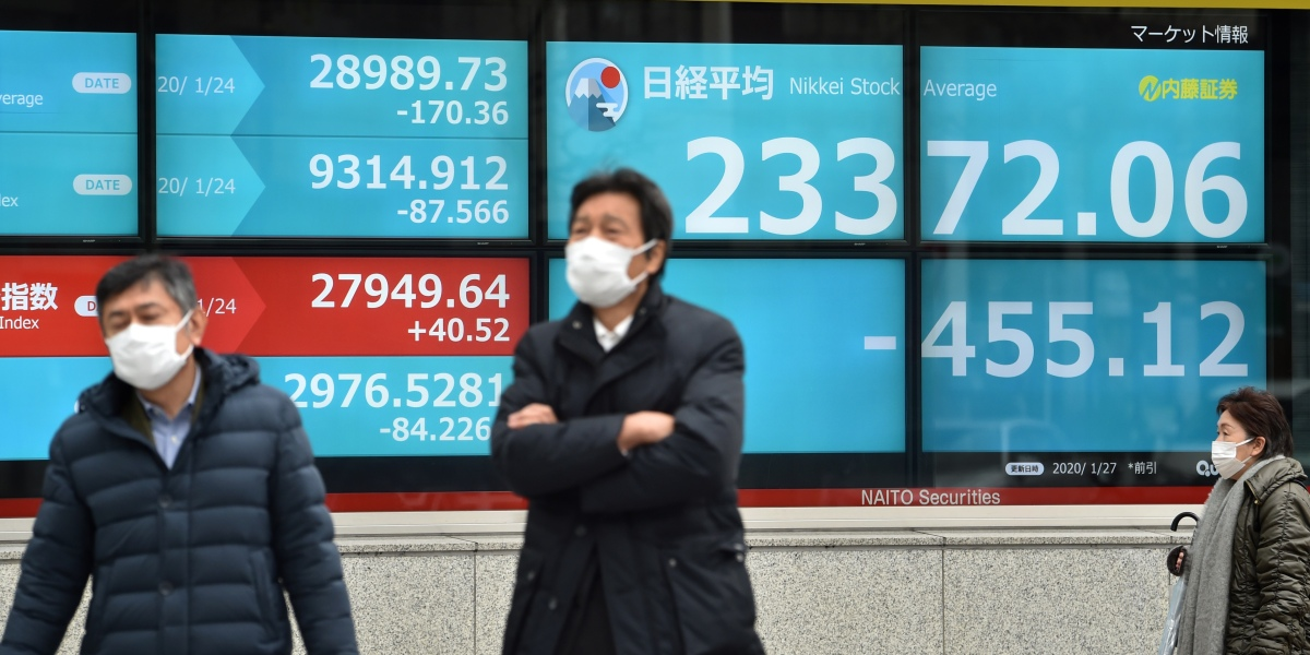 As China's deadly coronavirus spreads, the world's financial markets reel