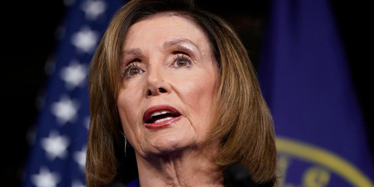 Nancy Pelosi is narrowly reelected House speaker