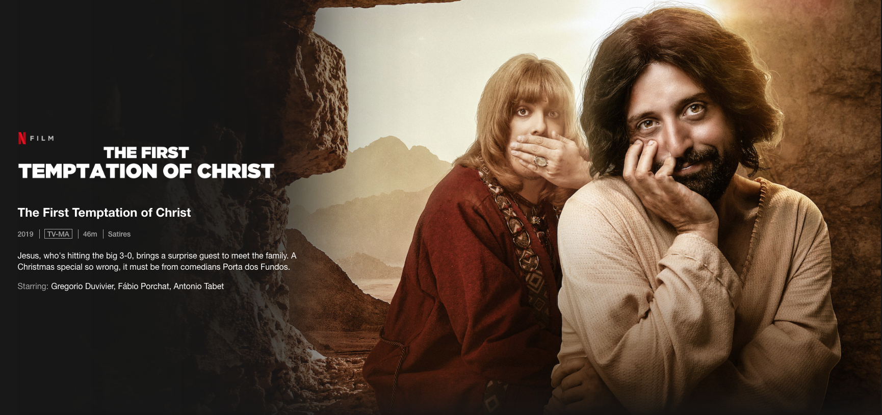 Netflix To Defend Gay Jesus Film In Brazil Supreme Court Fortune Jesus christ was the founder of christianity, declared to be the son of god in new testament. netflix to defend gay jesus film in