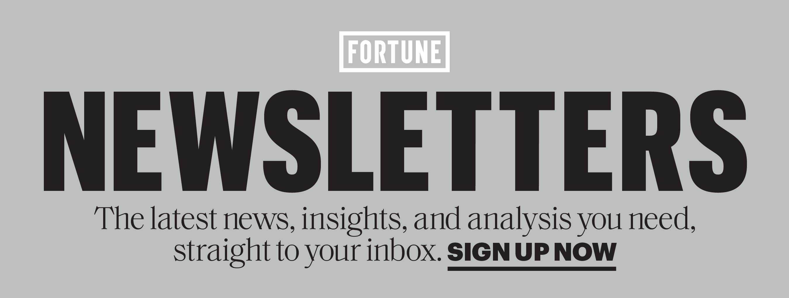 Join Fortune Newsletters Today