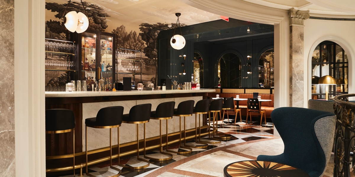 Bergdorf Goodman just opened a bar within its men's store on Fifth Avenue