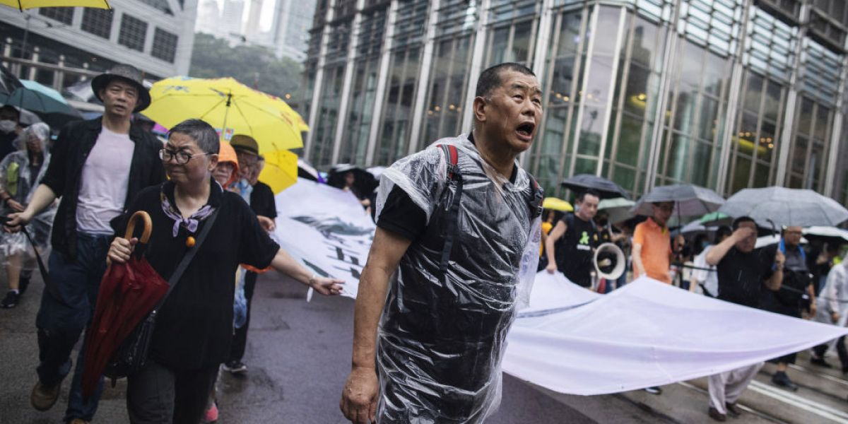 Jimmy Lai arrested: Hong Kong media tycoon backed pro-democracy protests