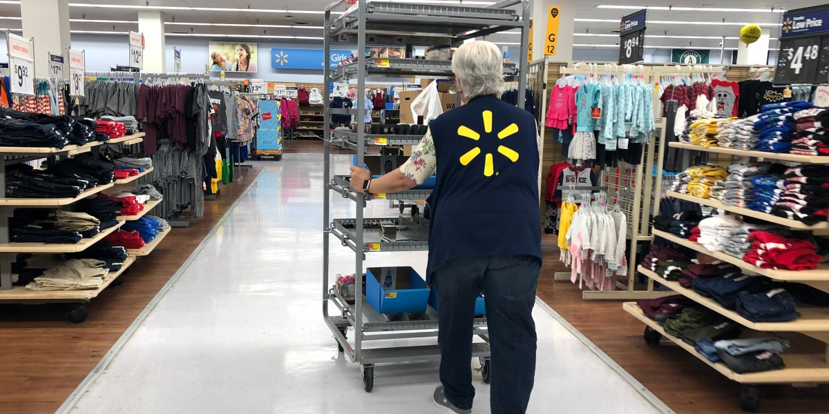 With a strong consumer economy, Walmart is on the hook for any slowing sales