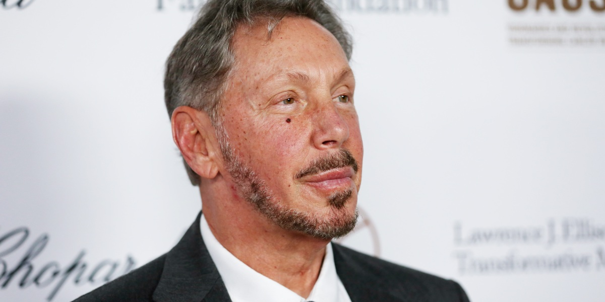 Oracle's Larry Ellison makes friends with his enemy's enemy, hosting a fundraiser for President Trump