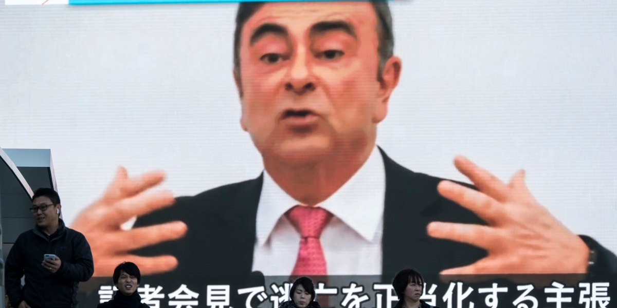 Nissan suing ex-chair Carlos Ghosn for $91 million