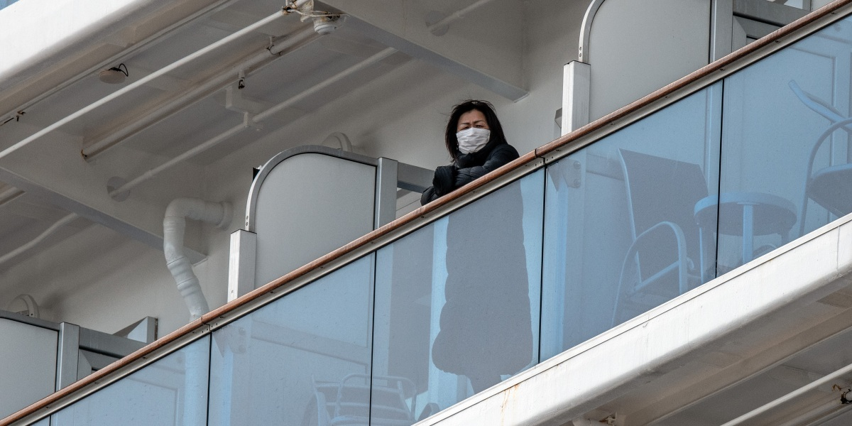More turmoil at sea for the coronavirus-stricken cruise ship sector