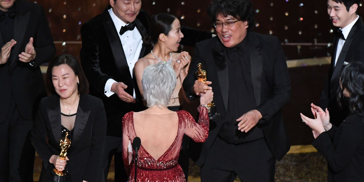 'Parasite' is the first non-English language film to win best picture at the Oscars