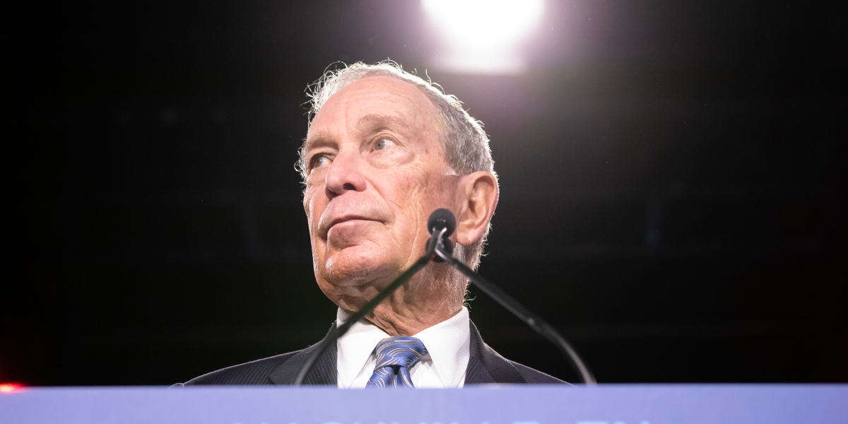 Bloomberg, Trump and a 2020 consideration: Who's treated women less bad?