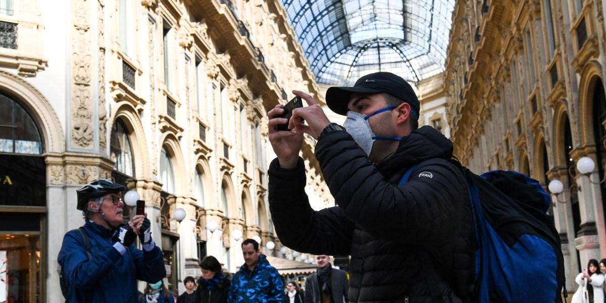 Coronavirus in Italy: Europe's first big Covid-19 outbreak sends global markets reeling