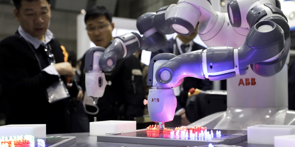 Industrial robotics giant teams up with a rising A.I. startup