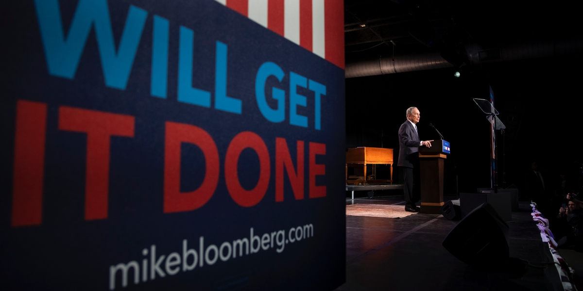 Michael Bloomberg is set to take the debate stage