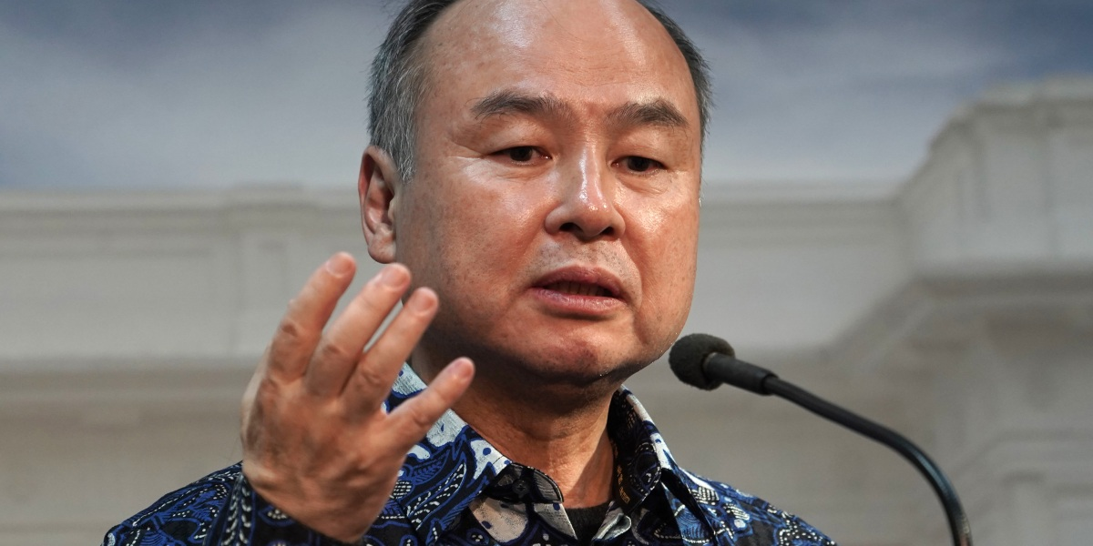 Masayoshi Son's SoftBank bets on public tech equities