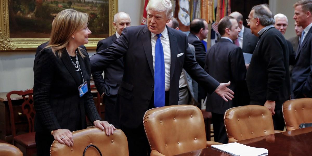 Trump attacks GM CEO Mary Barra, sending ventilator deal reeling