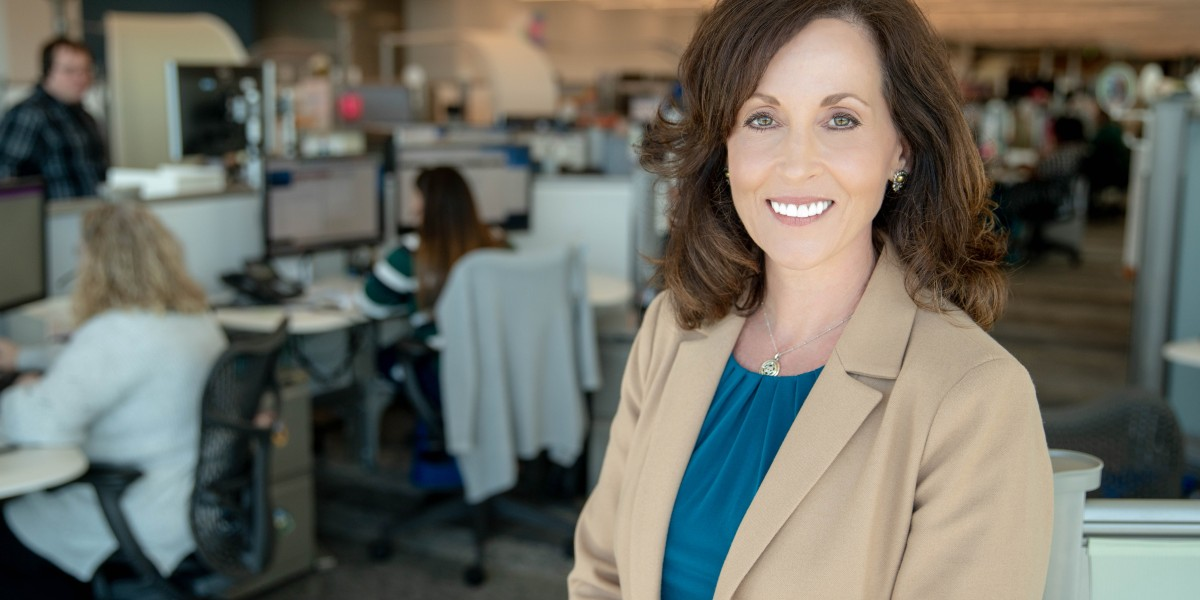 Stacy Keller Williams headshot - How one of America's best places to work is navigating an uncertain, high-tech future
