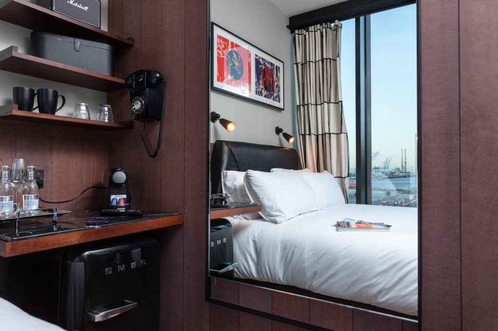 Dublin's resurgence reaches new heights at this hip Docklands hotel