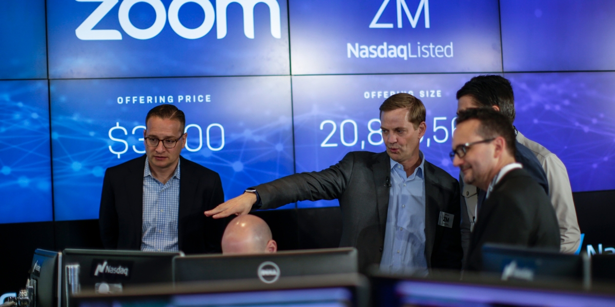 Zoom Stock Ticker Ipo Day - 'ZOOM' stock halted after investors confuse it with Zoom Video stock