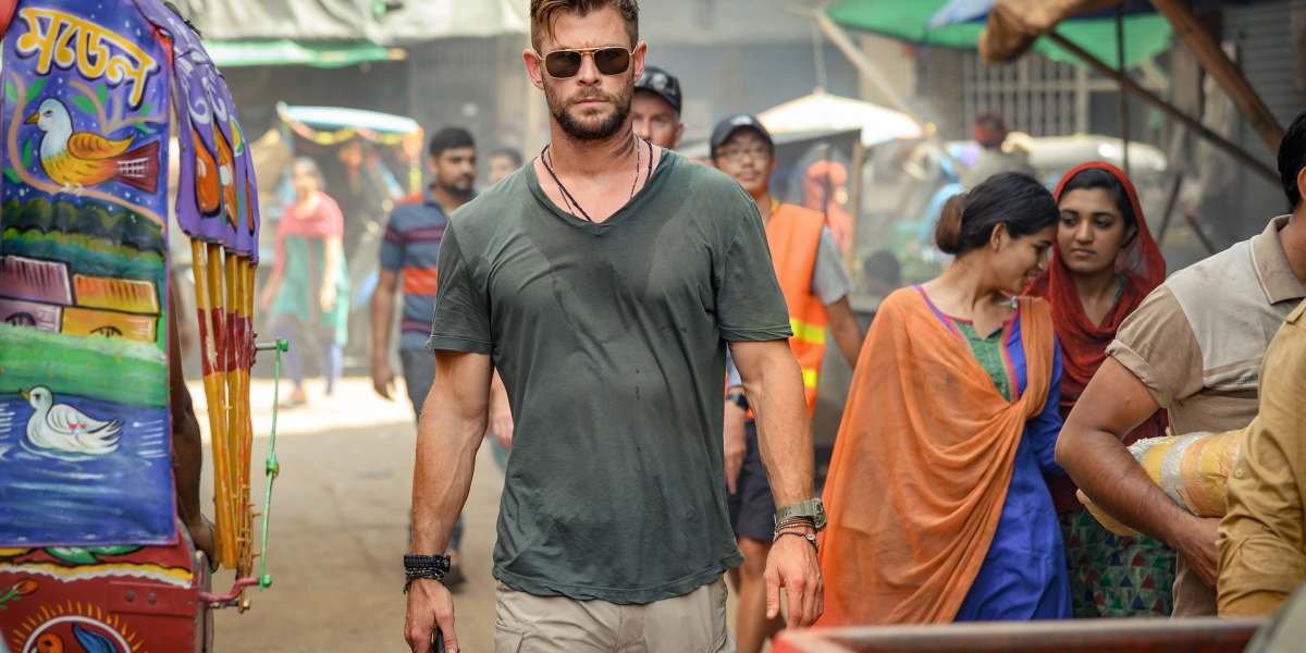 Chris Hemsworth calls 'Extraction' the 'most exhausting' shoot of his career