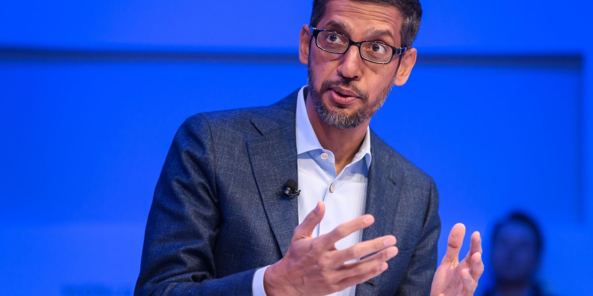 Alphabet's shares jump 8% after the coronavirus impact is less than feared