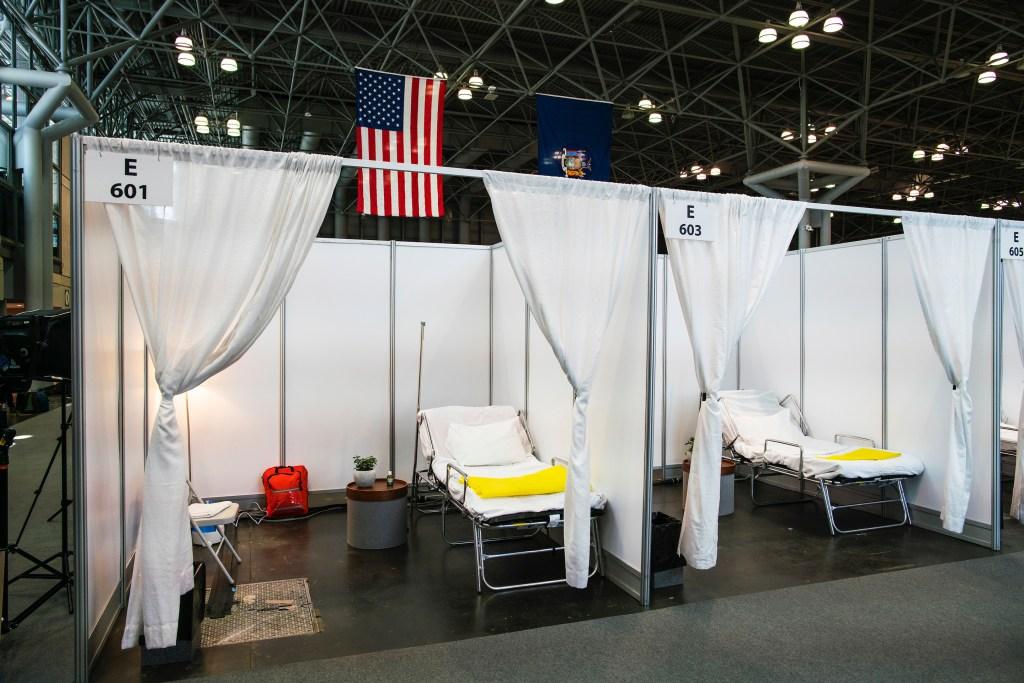 Live event companies unite to build coronavirus hospitals and testing sites  | Fortune