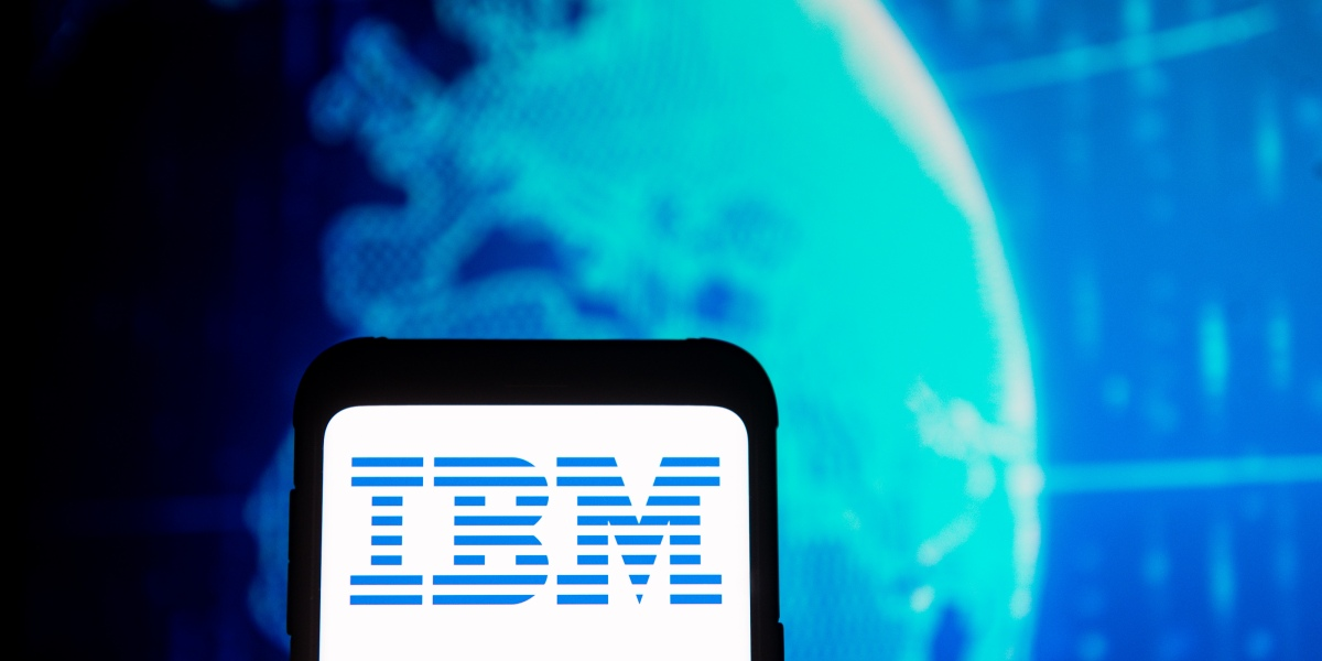 GettyImages 1208499002 - IBM shares tumble on coronavirus impact