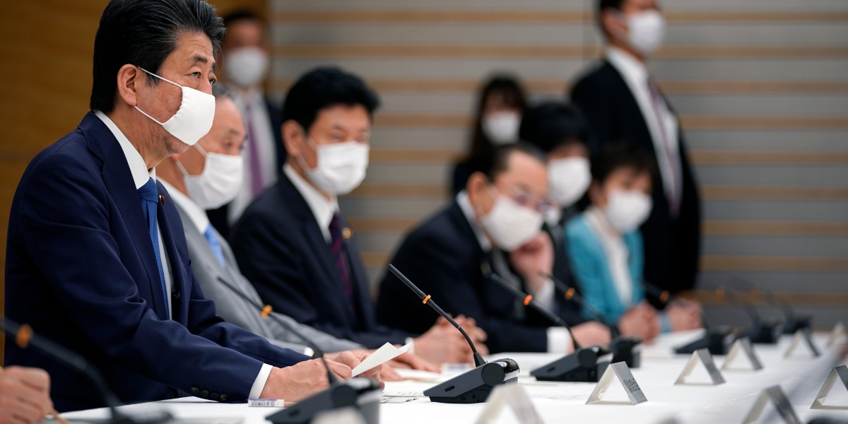 Japan launches $1 trillion coronavirus stimulus package as Prime Minister Abe announces state of emergency