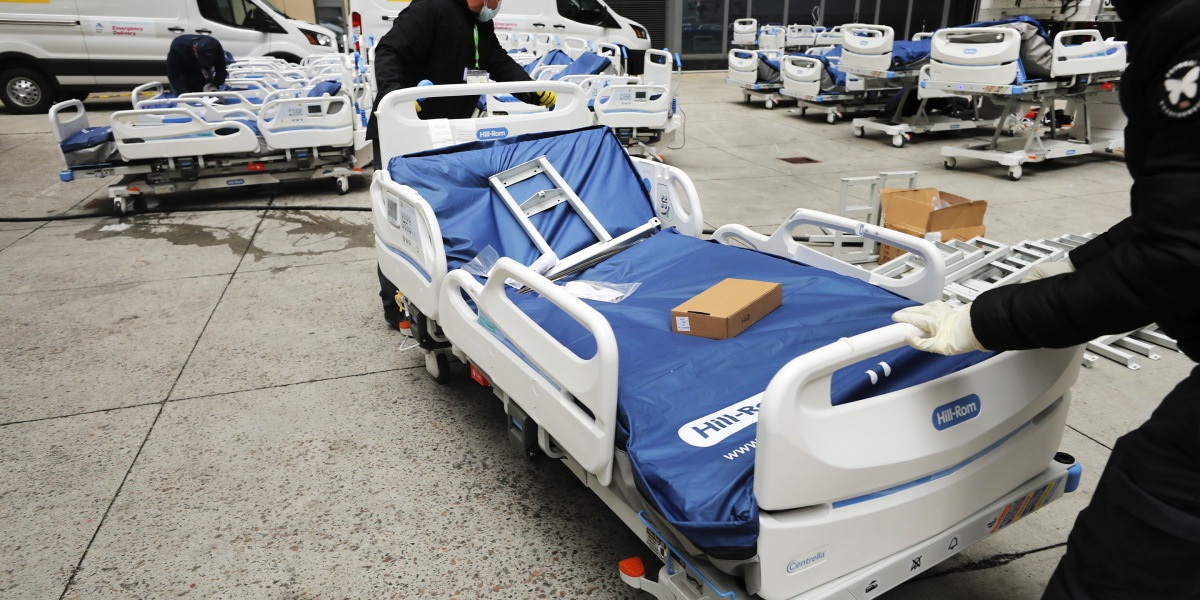 Pandemic economics: The U.S. is learning why limiting hospital beds carries a steep cost