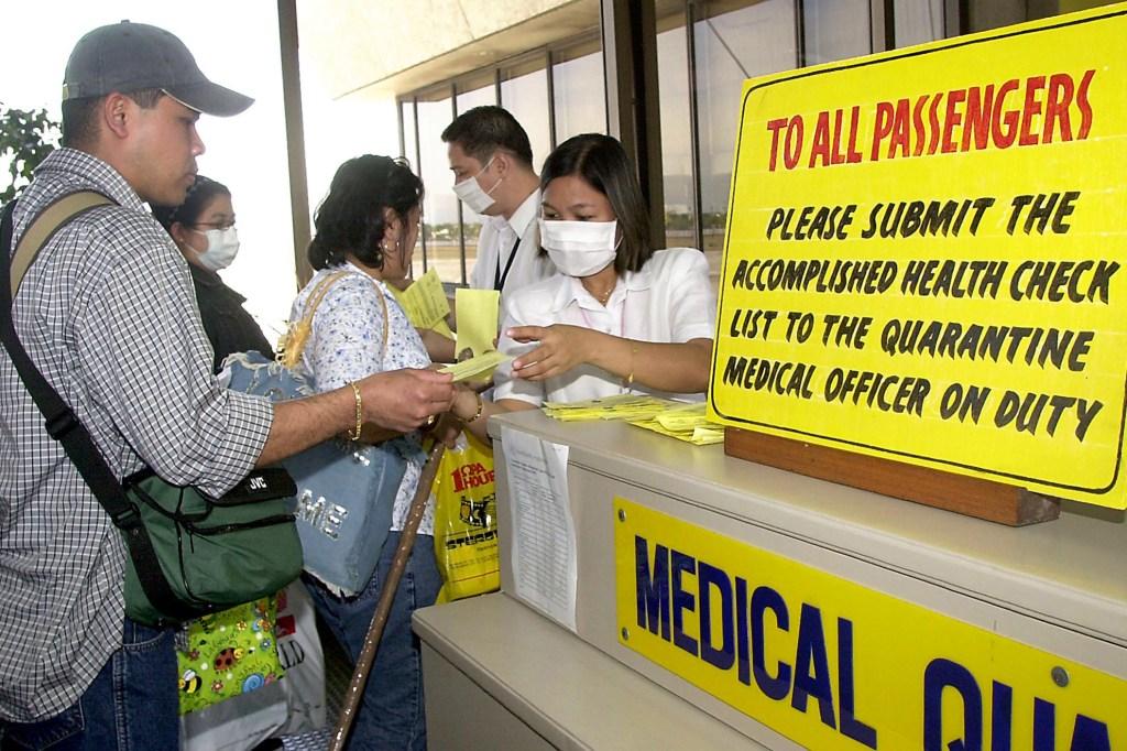 Pandemics in History-SARS