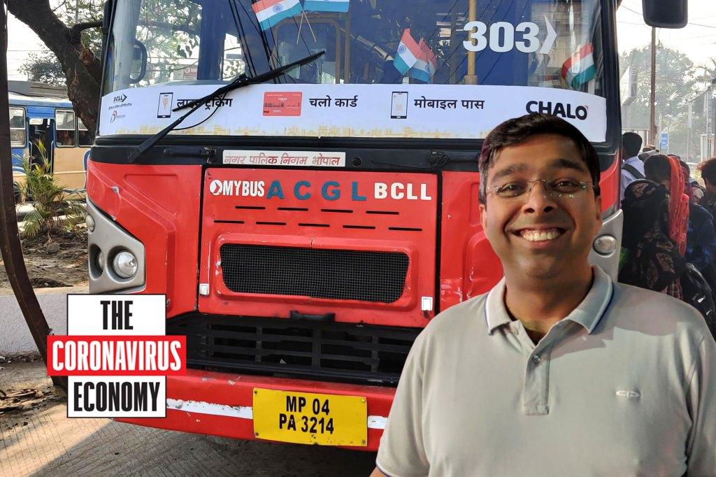 The Coronavirus Economy: The startup founder in India striving to improve mass transit