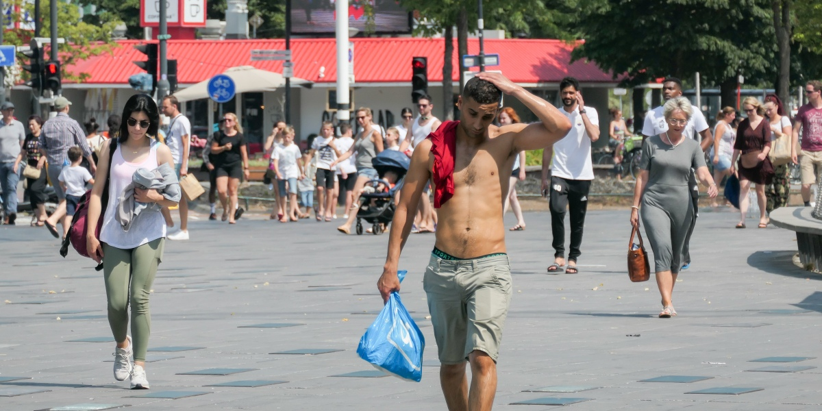 Stuck at home, Europeans face a summer of sweltering temperatures and drought, scientists predict