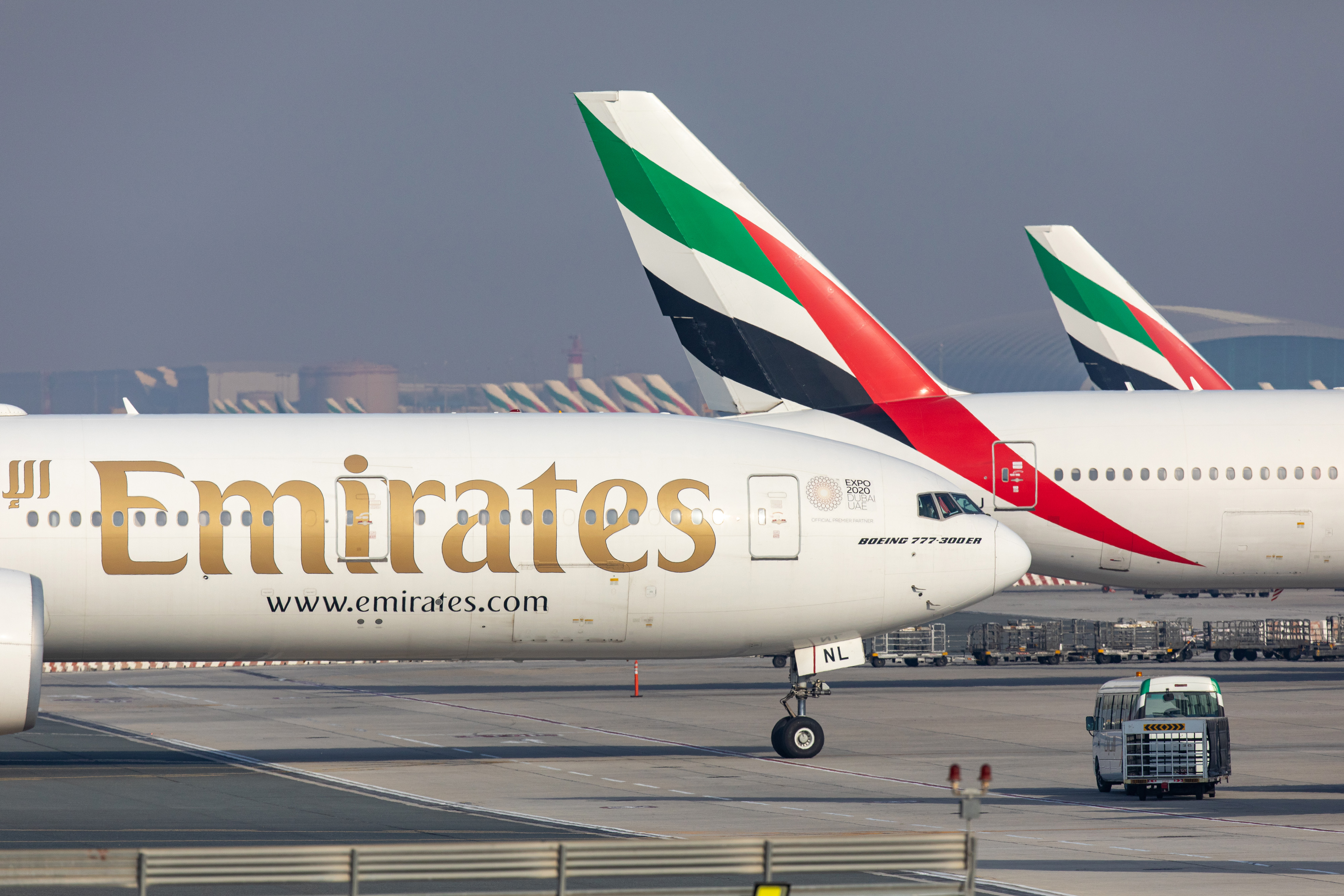 Emirates Group says job cuts needed with planes grounded | Fortune