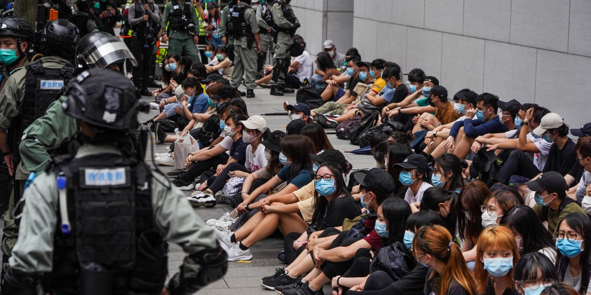 Could Hong Kong tensions sink the global stocks rally?