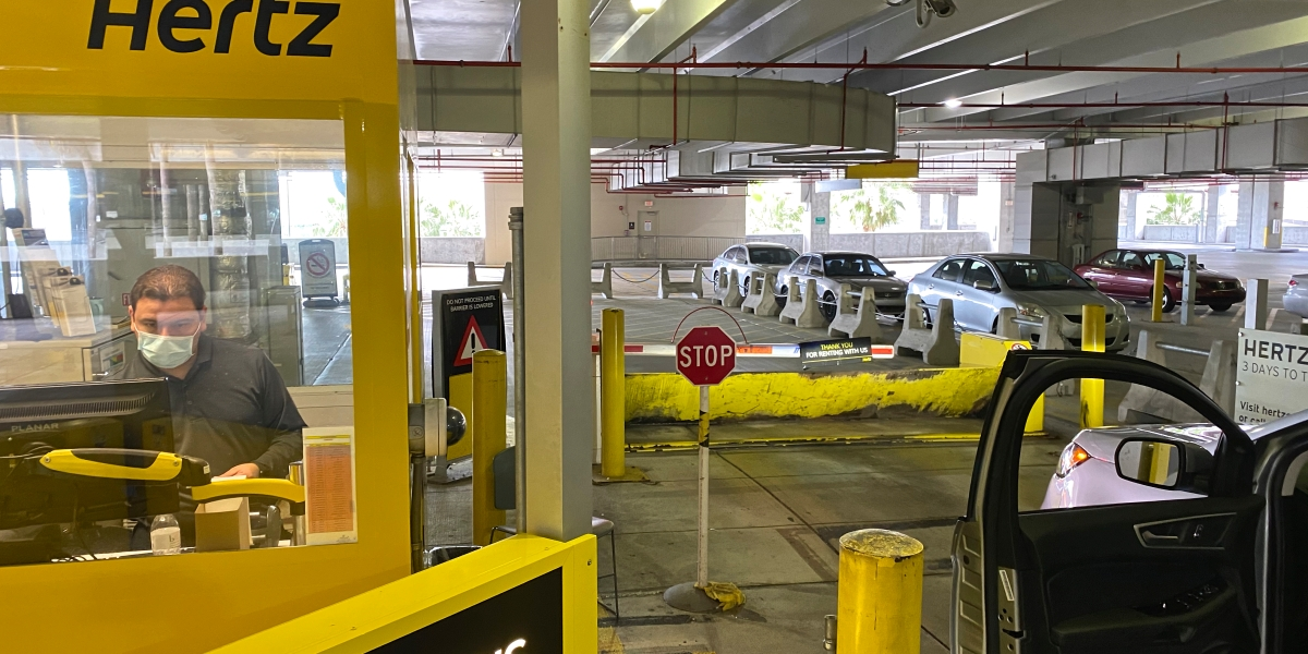 Hertz's stock tanks as rental car firm reportedly braces for bankruptcy