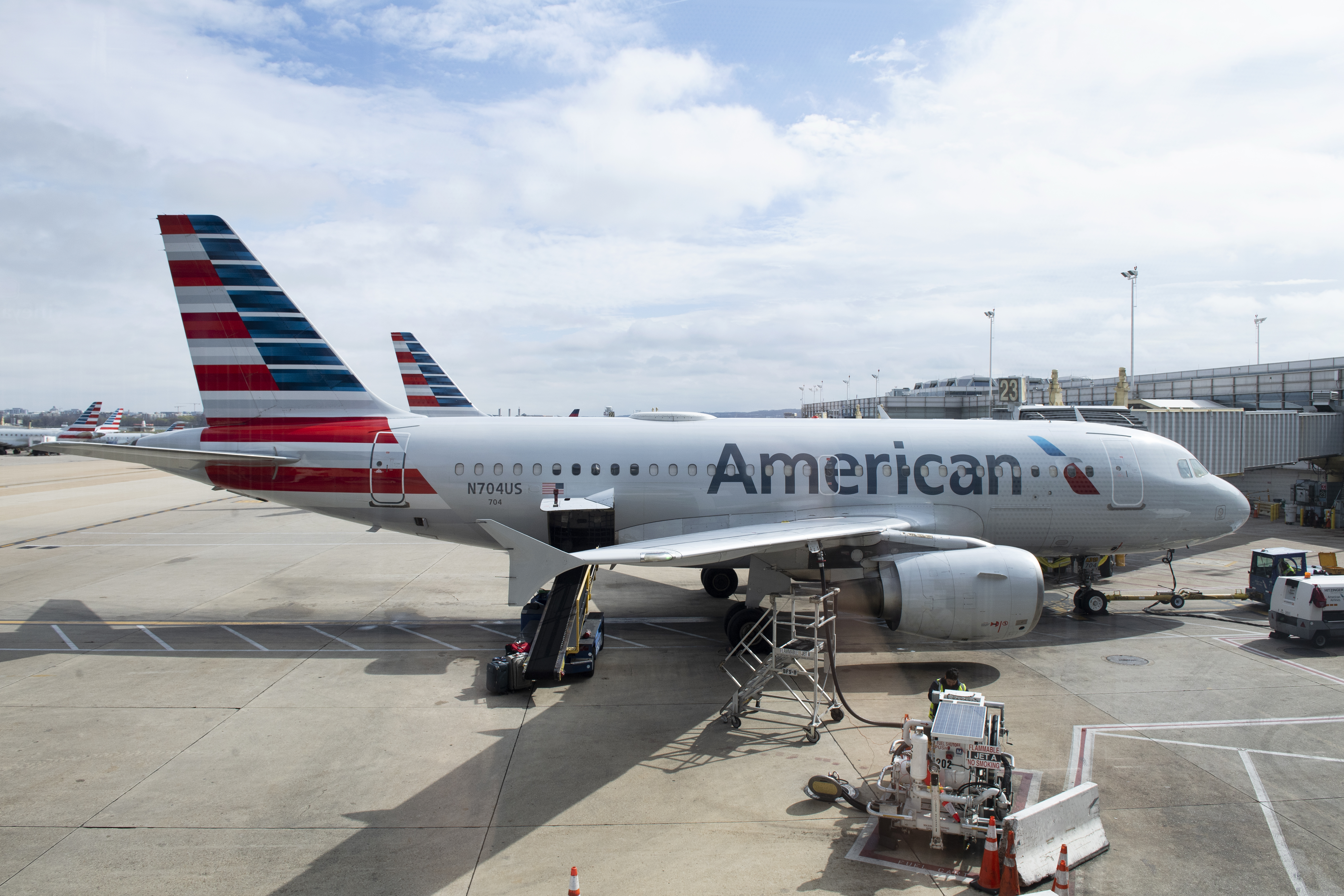 American Airlines stock adds to yesterday's 41% gain as reopening optimism soars thumbnail
