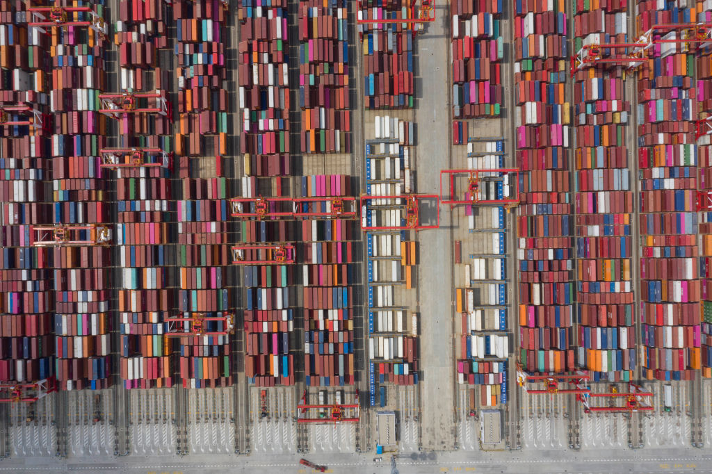 CHINA SHANGHAI YANGSHAN CONTAINER PORT