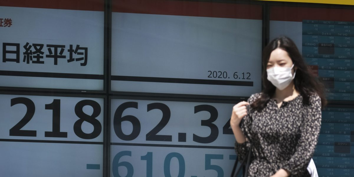 Markets crash back down to Earth amid fears of a coronavirus 'second wave'