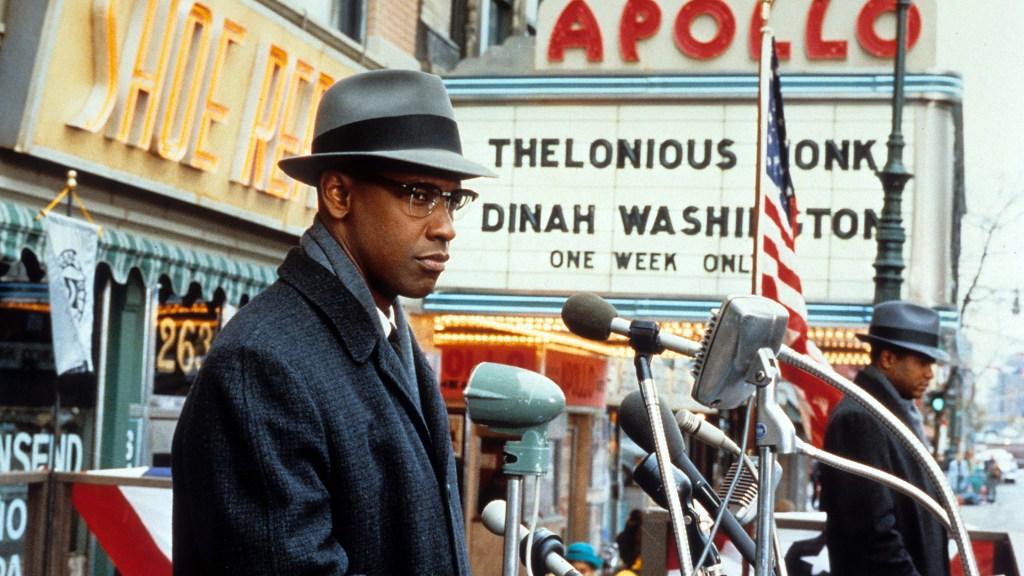 Denzel Washington In 'Malcolm X'
