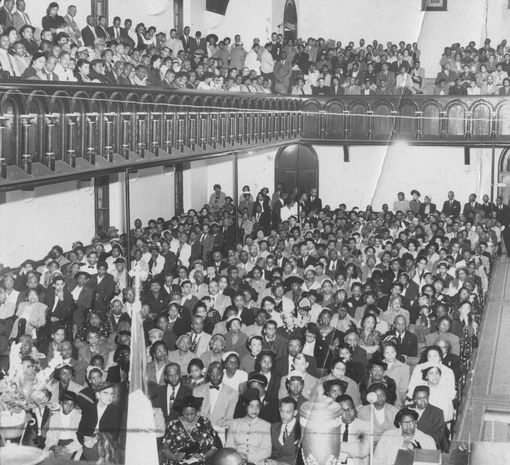 1955 Emmett Till protest