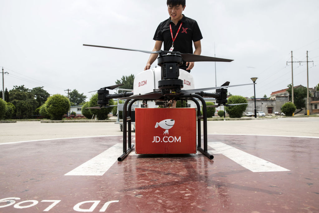 JD.com on the Fast Track to Drone Deliveries